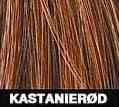 Kastanierød