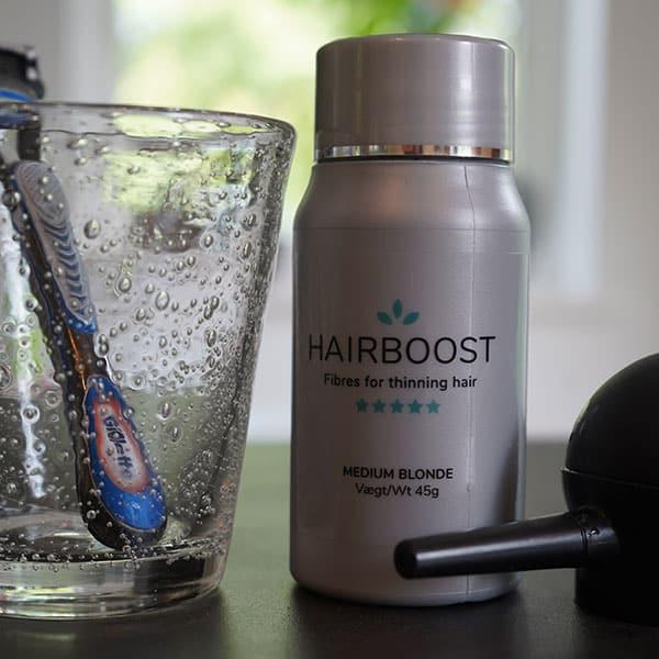 Brug hårfiber rigtigt for at skjule hårtabet