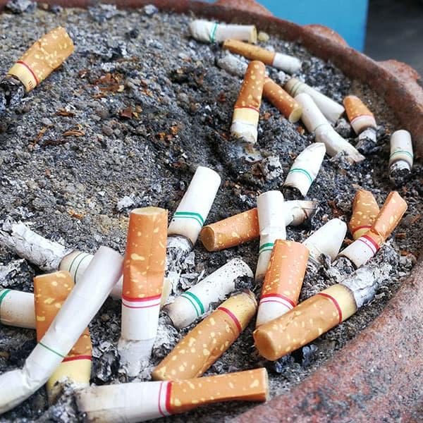 Rygning kan give dig hårtab
