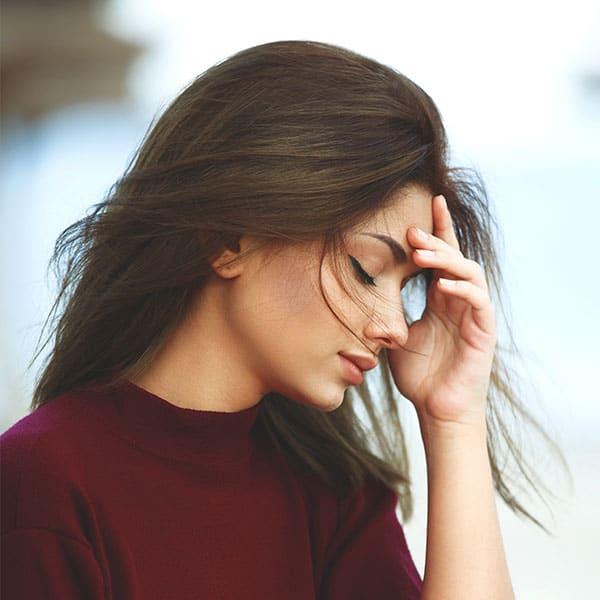 Hårtab stress kvinde